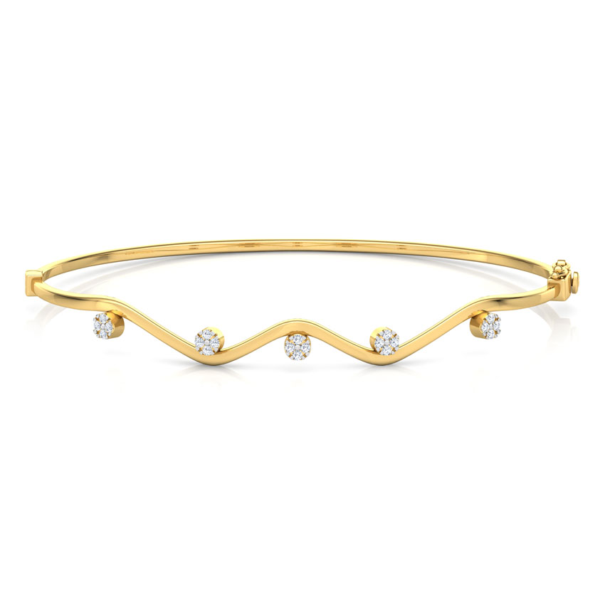 Curvy Cluster Bracelet