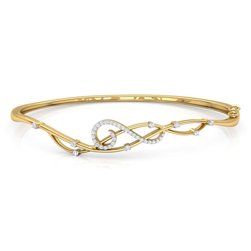 Glimmer Scroll Bracelet