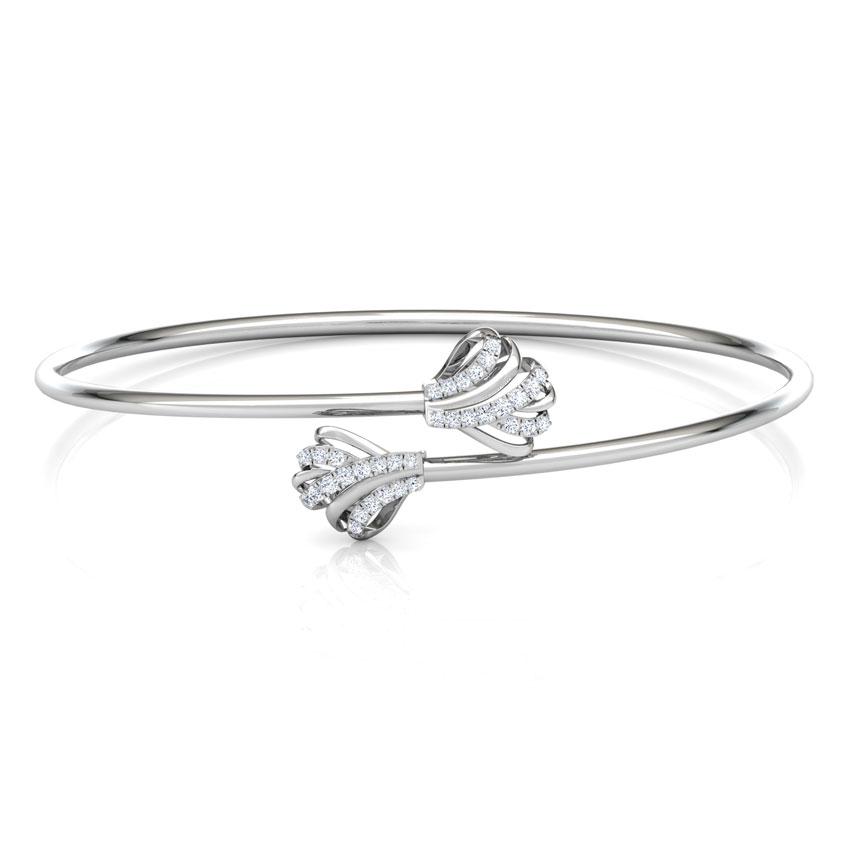 Ruffle Diamond Bracelet