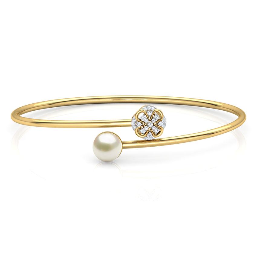 Bloom and Pearl Bracelet