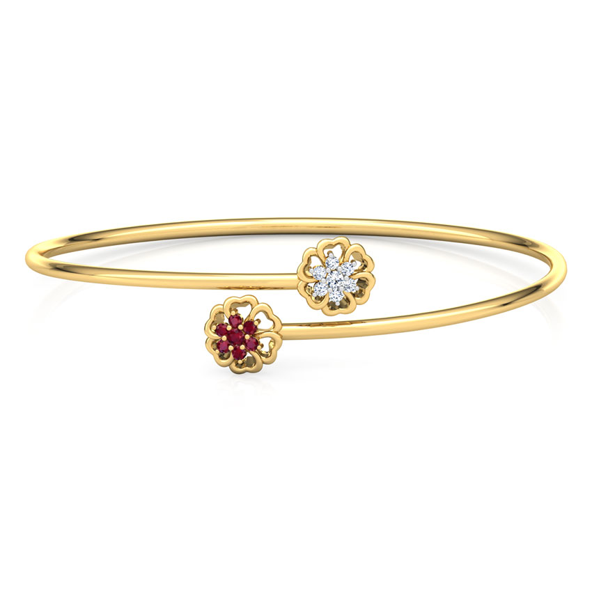 Pansy Diamond Bracelet