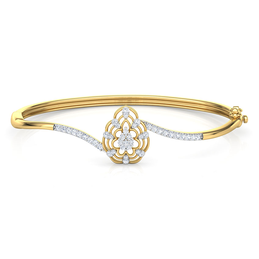 Interwoven Diamond Bracelet