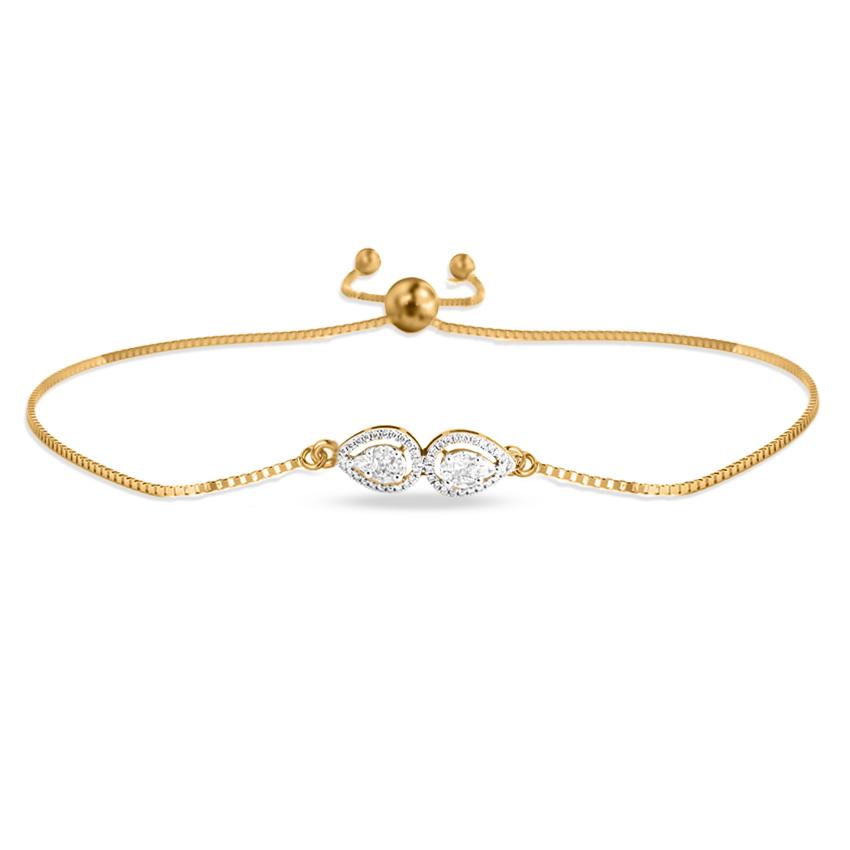 Drastic Pear Adjustable Bracelet