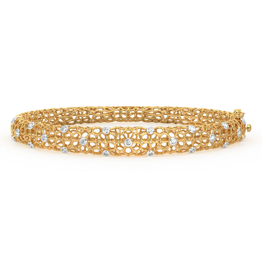 Anika Floral Mesh Bracelet