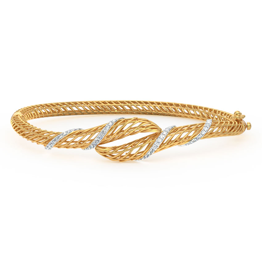 Smita Swirl Mesh Bracelet
