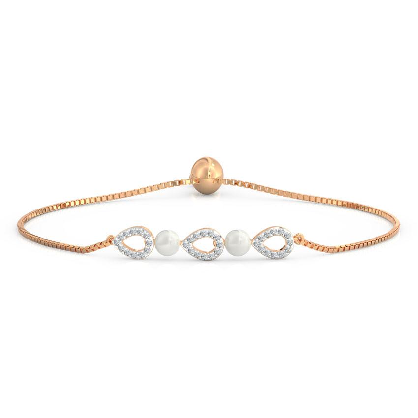 Pear Adjustable Bracelet