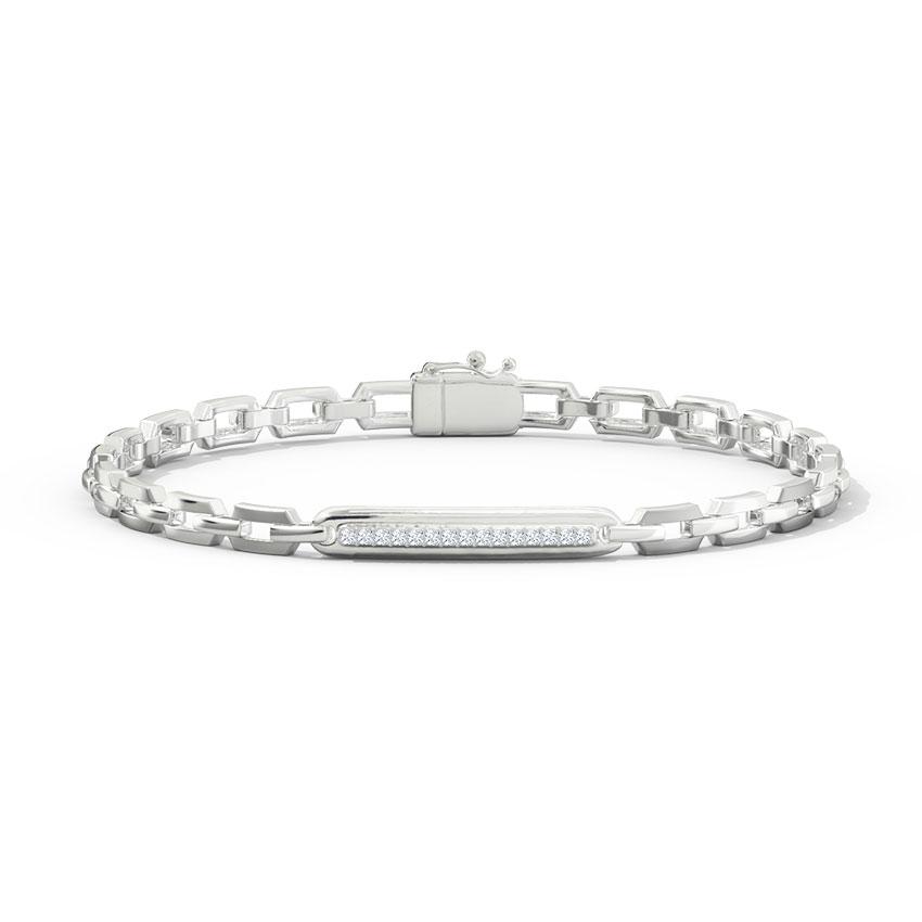 Daryl Platinum Men's Bracelet