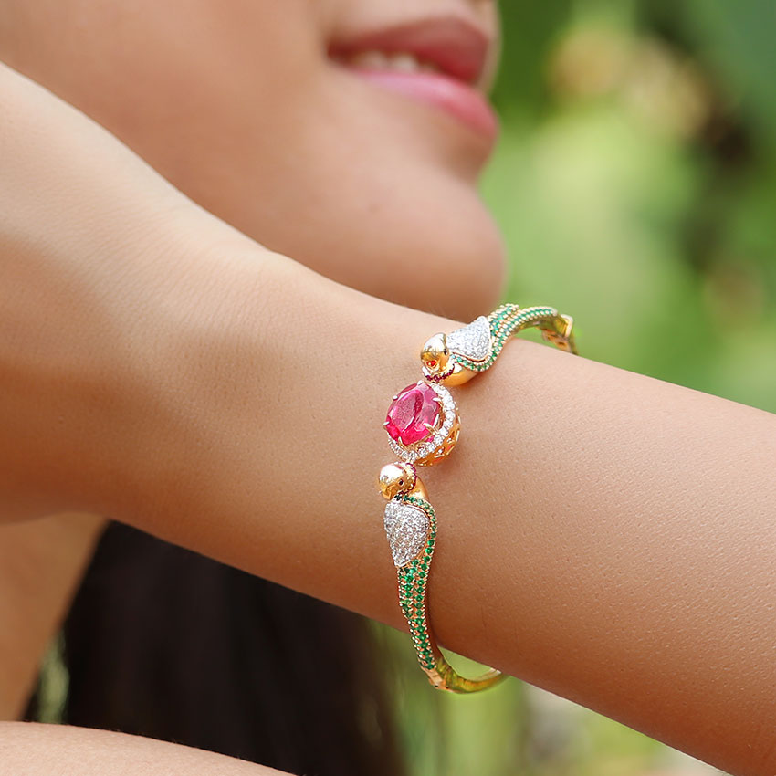Captivating Parrot Bracelet