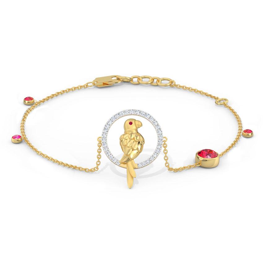 Delightful Parrot Bracelet