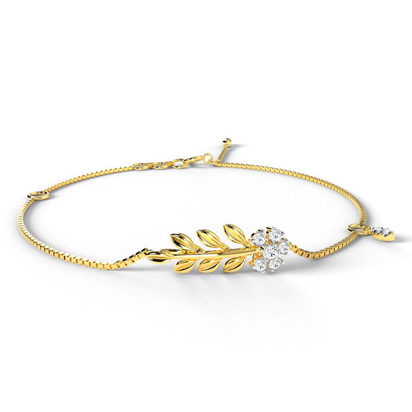 Dainty Fern Bracelet