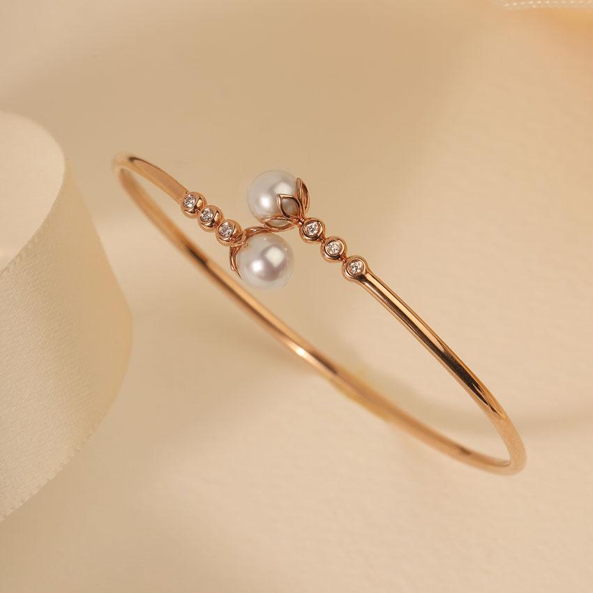 Ornate Pearl Bracelet