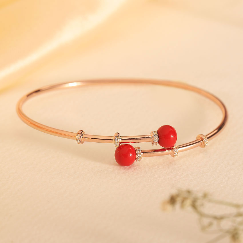 Alluring Coral Bracelet