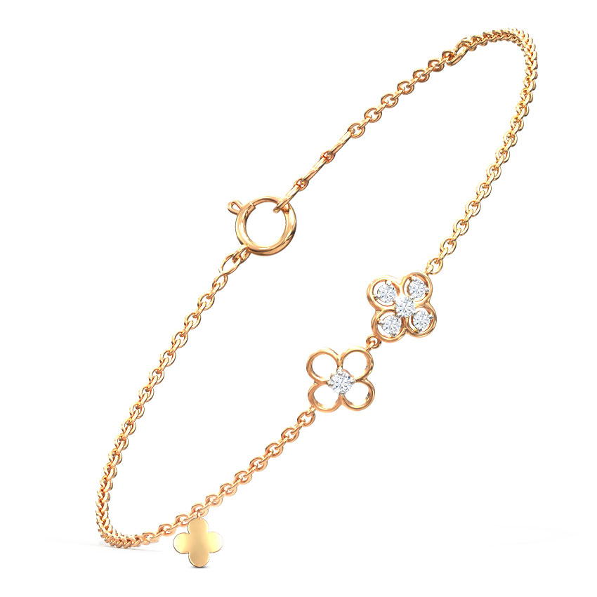 Flowerful Charm Bracelet