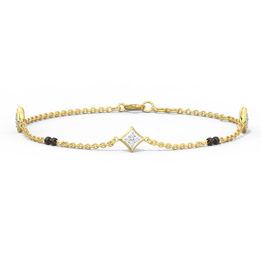 Noor Mangalsutra Bracelet