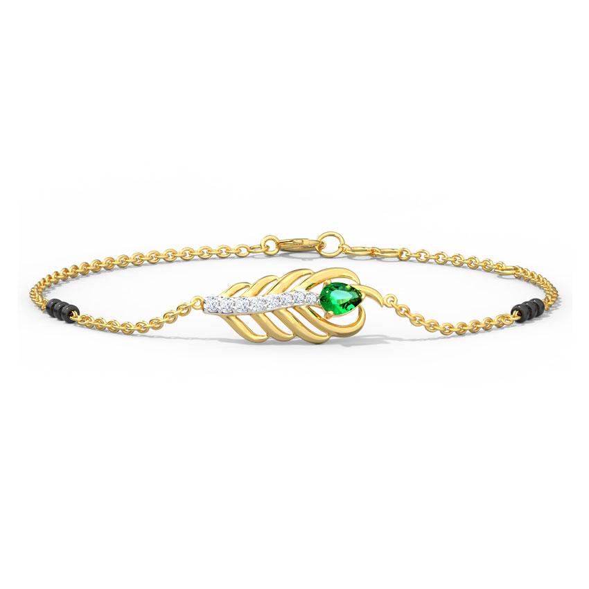 Kyra Mangalsutra Bracelet