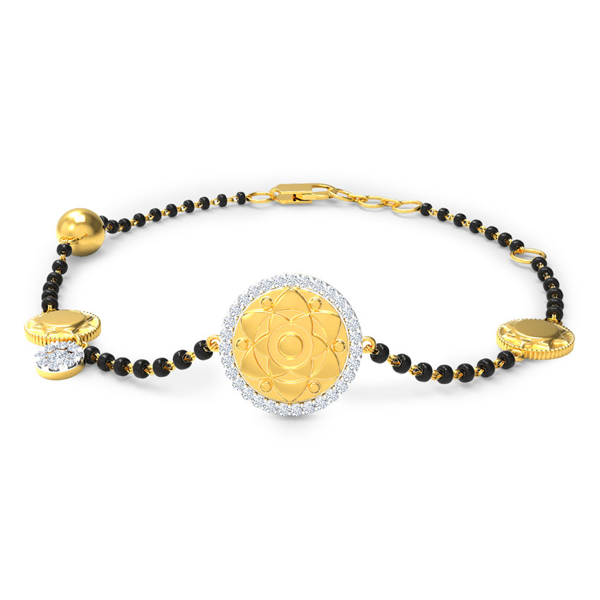 Malina Mangalsutra Bracelet
