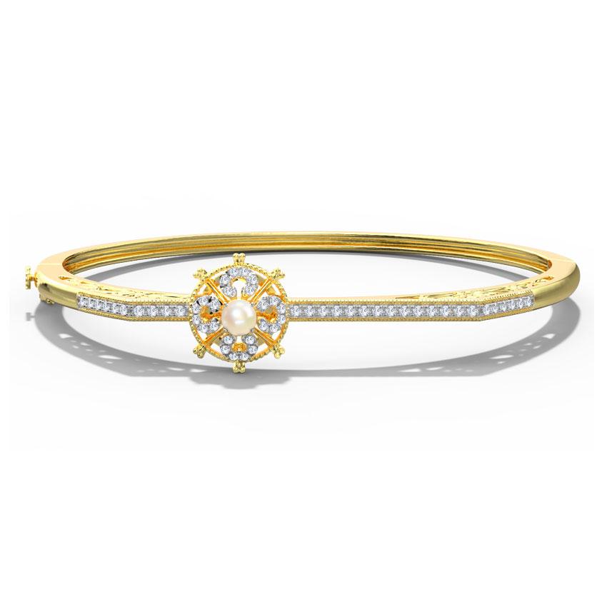 Diamond,Gemstone Bracelets 18 Karat Yellow Gold Meghan Gemstone Bracelet
