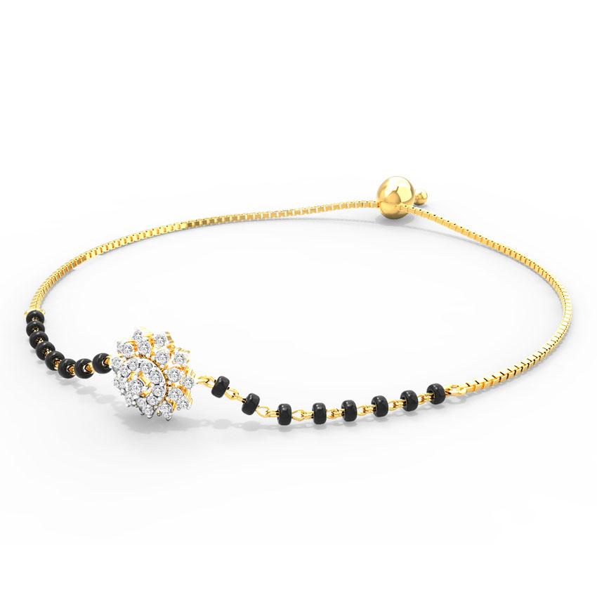 Saba Adjustable Mangalsutra Bracelet