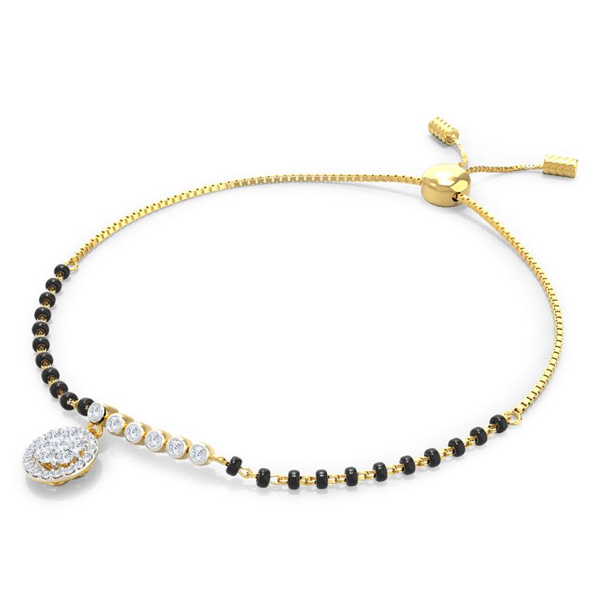 Ritika Adjustable Mangalsutra Bracelet