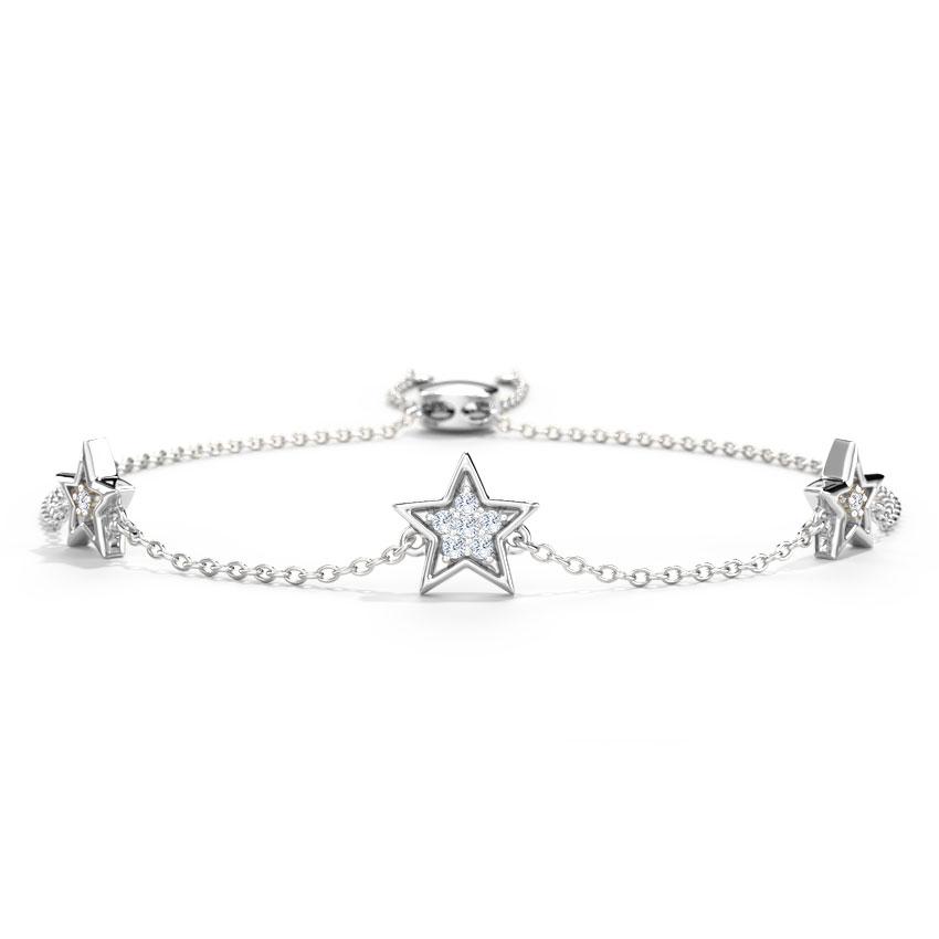 Starry Glow Adjustable Bracelet