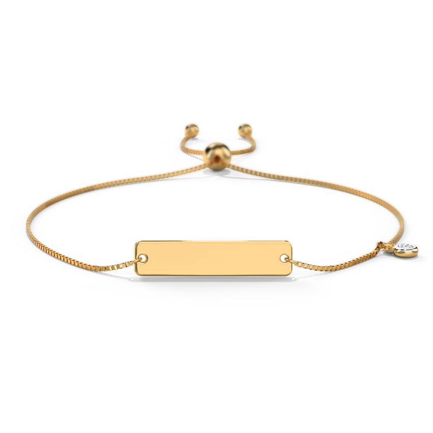 Ira Personalised Adjustable Bracelet