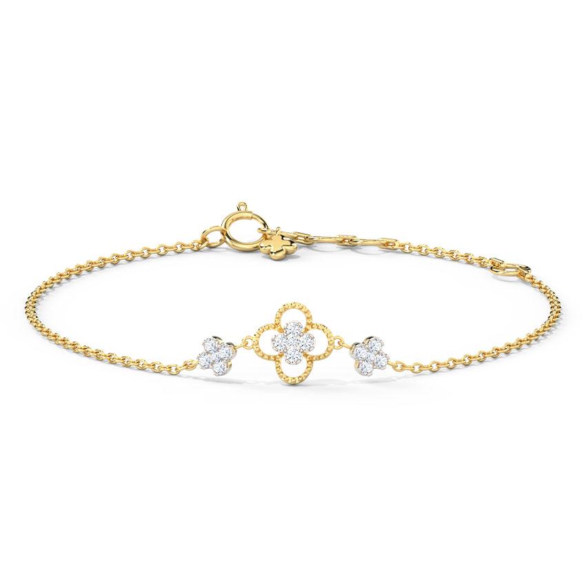 Baroque Clover Bracelet