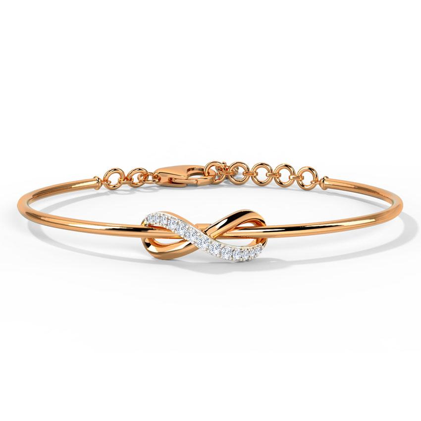 Twisted Infinity Bracelet
