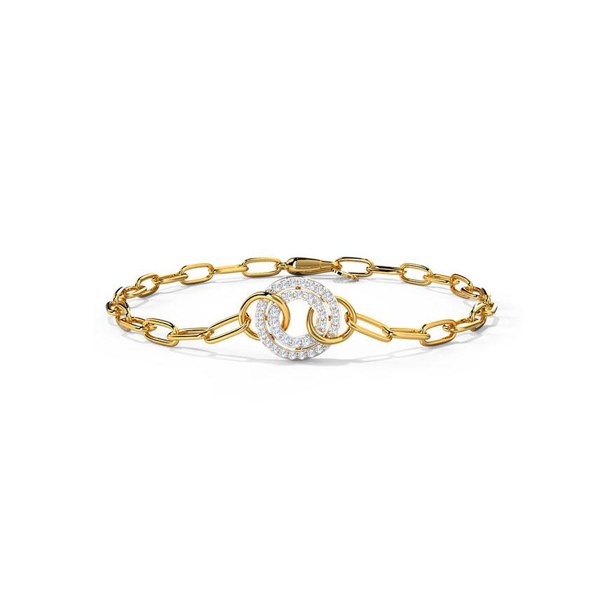 Entwined Links Bracelet