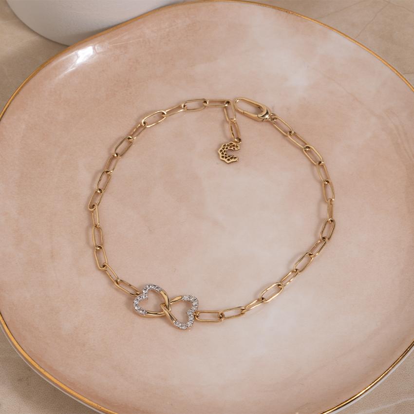 Twine Heart Bracelet