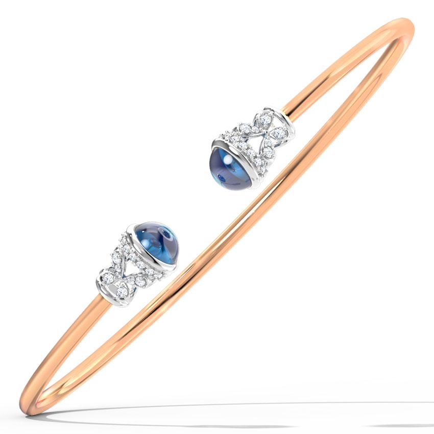 Azure Ornate Bracelet