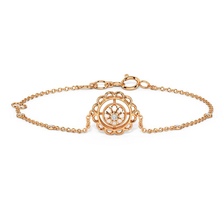 Enchanting Floral Bracelet