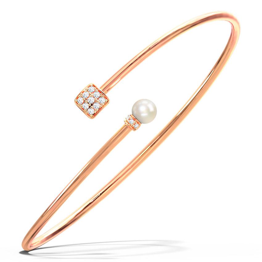 Quad and Pearl Bracelet