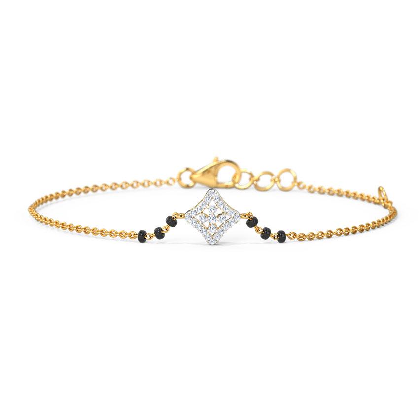 Gia Mangalsutra Bracelet