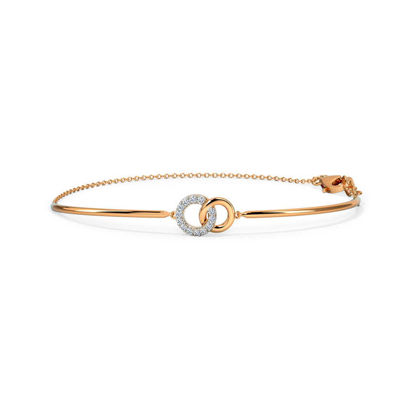 Duo Interlinked Bracelet