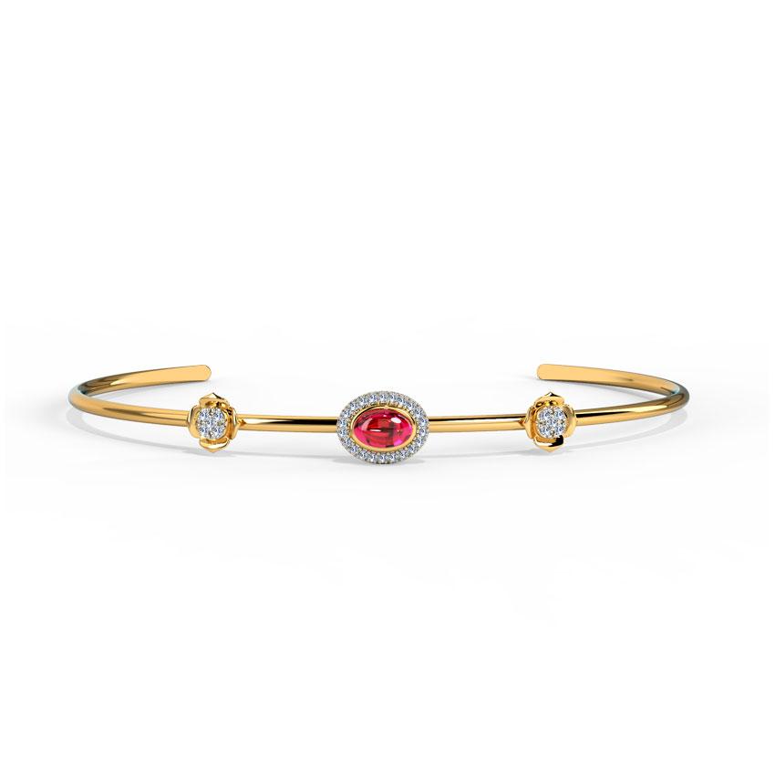 Glittering Scarlet Bracelet