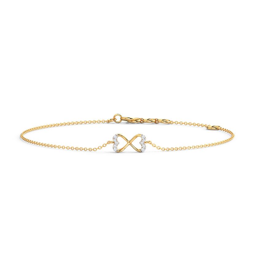Twain Heart Bracelet