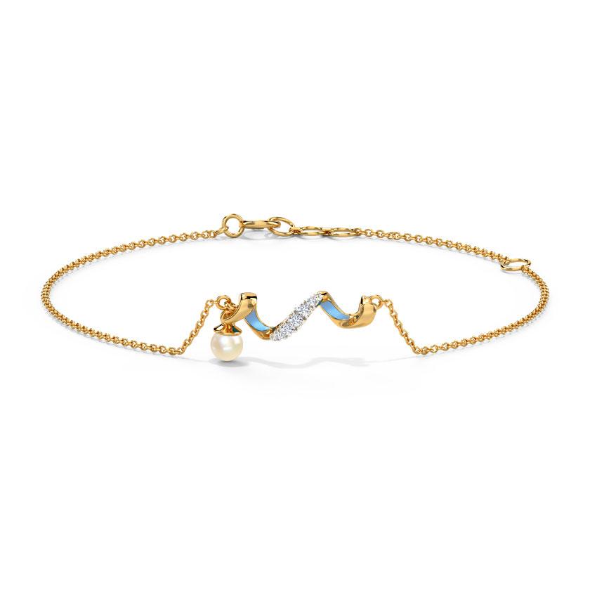 Azure Twirl Bracelet