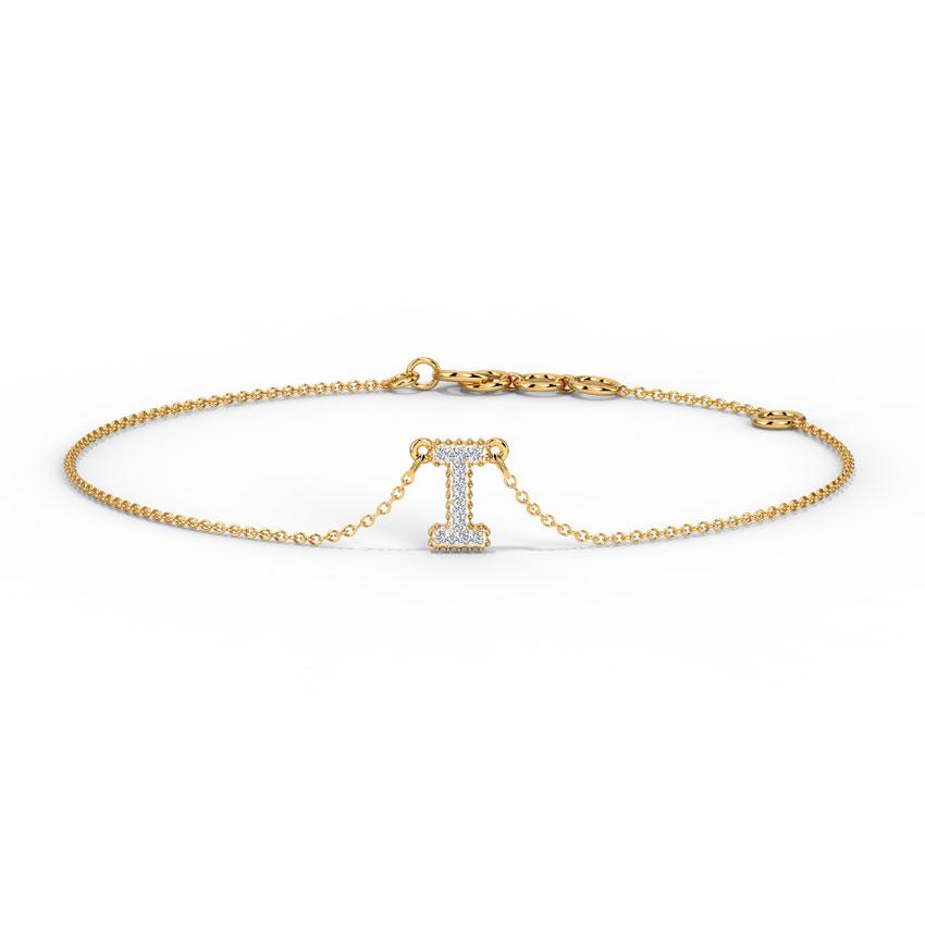 Dazzle Alphabet I Bracelet