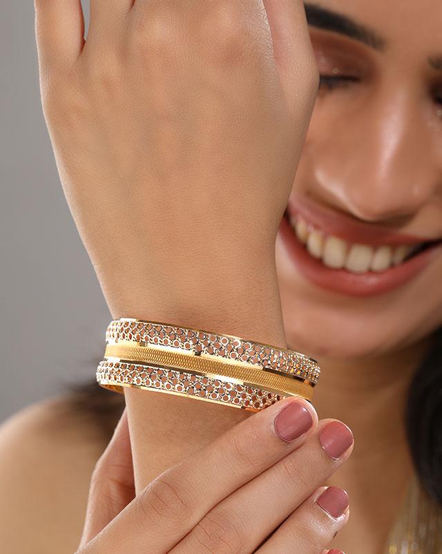 Baani Gold Bangle