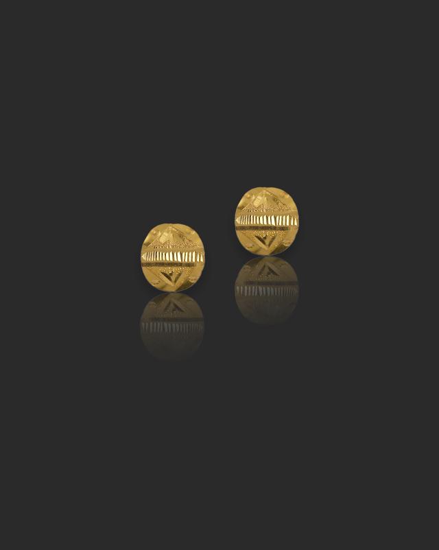 Shipra 22Kt Gold Stud Earrings