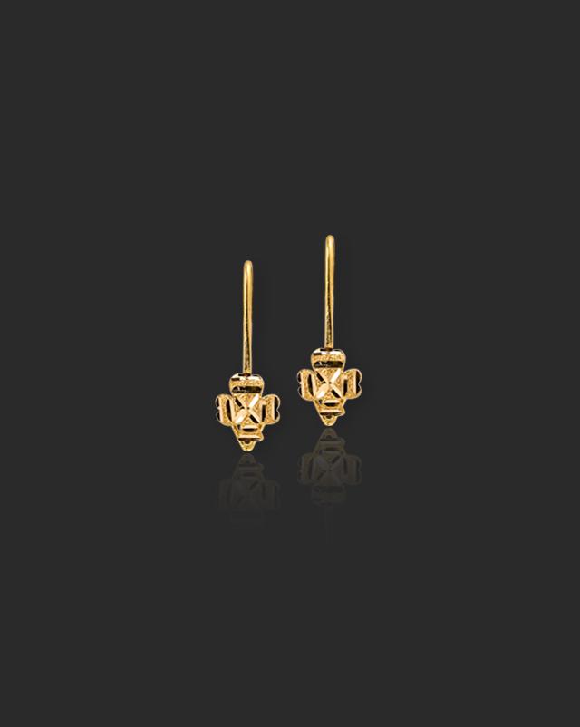 Aksha Gold Kids' Earrings