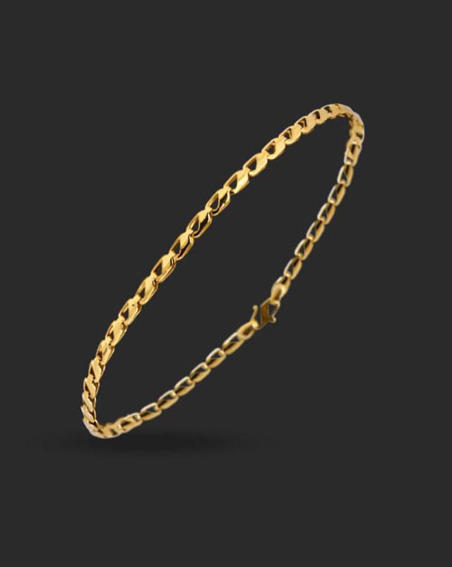 Gold Bracelets 22 Karat Yellow Gold Aarohi 22Kt Gold Bracelet