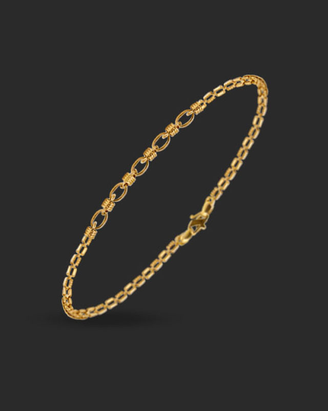 Gold Bracelets 22 Karat Yellow Gold Anika 22Kt Gold Bracelet
