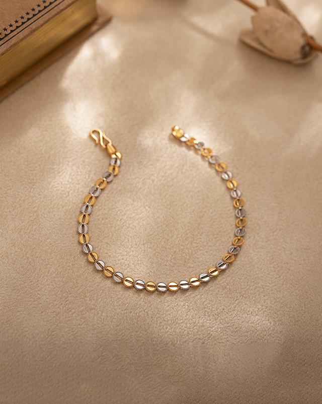 Gold Bracelets 22 Karat Yellow Gold Kiara 22Kt Gold Bracelet