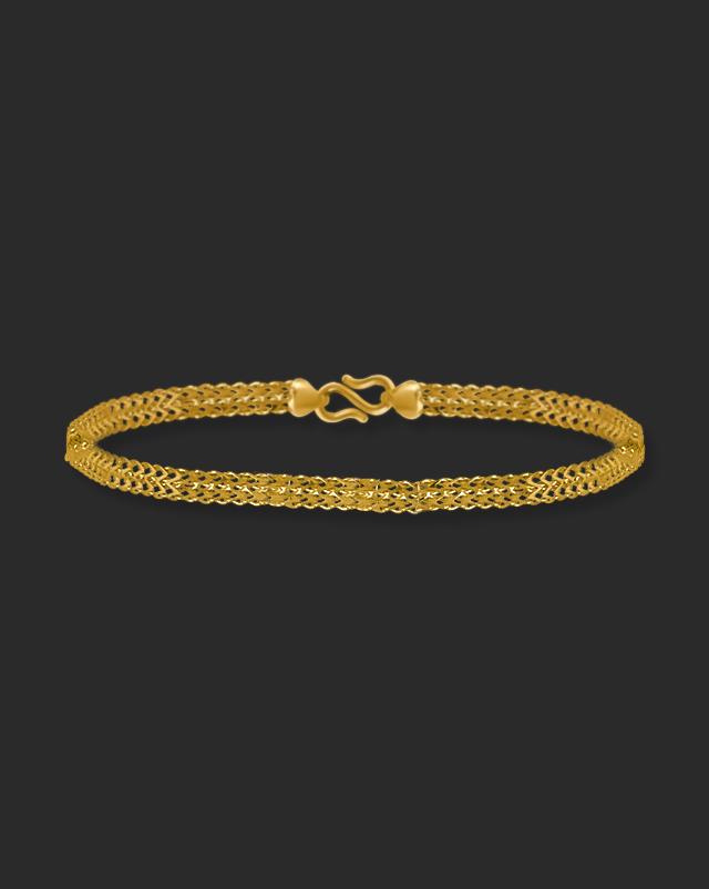 Gold Bracelets 22 Karat Yellow Gold Ayog 22Kt Gold Bracelet
