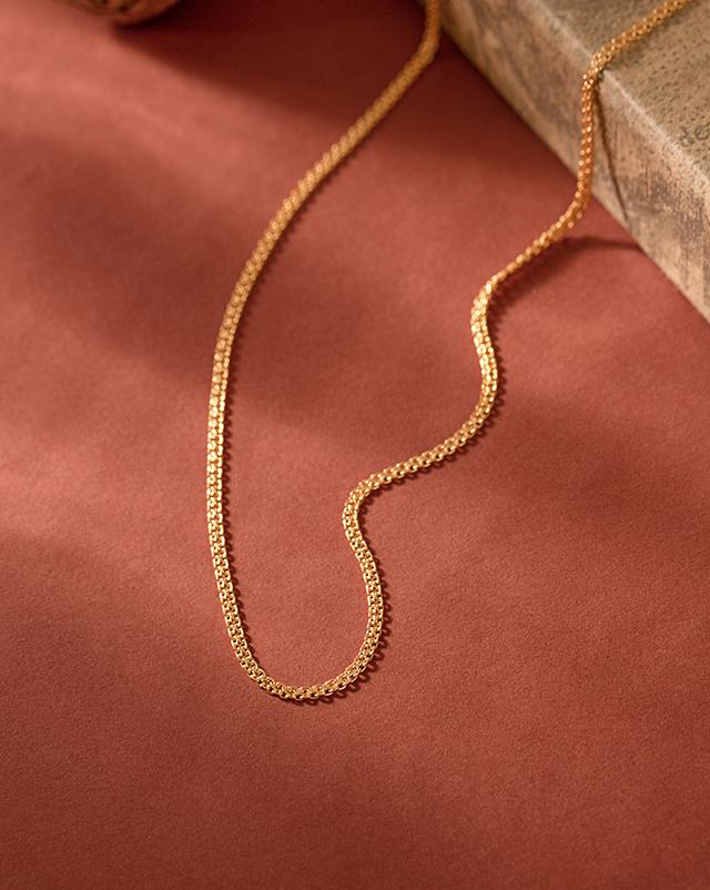Gold Chains 22 Karat Yellow Gold Deco Box 22Kt Gold Chain