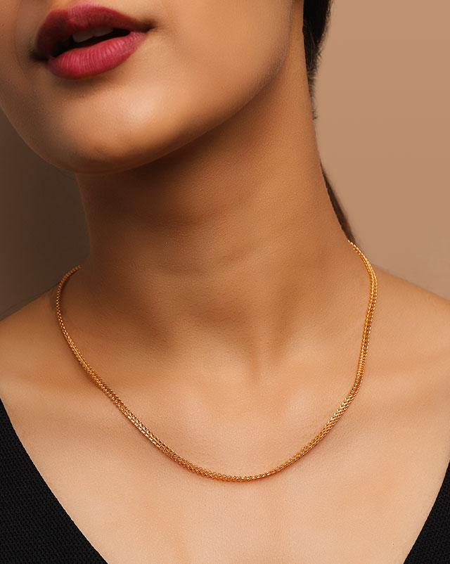 Lavina Fancy 22Kt Gold Chain