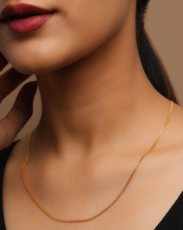 Gold Chains 22 Karat Yellow Gold Vanita 22Kt Gold Chain