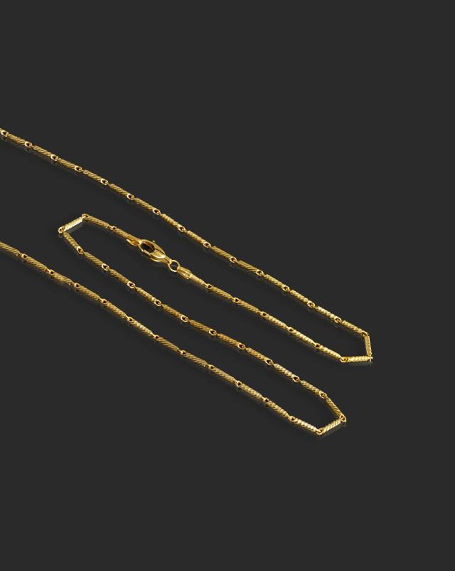 Gaura 22Kt Gold Chain