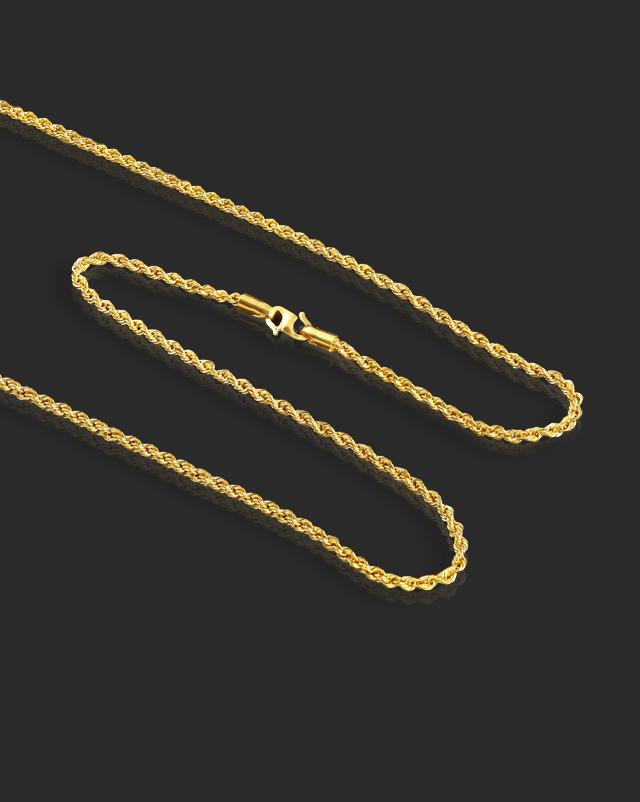 Anika 22Kt Gold Chain